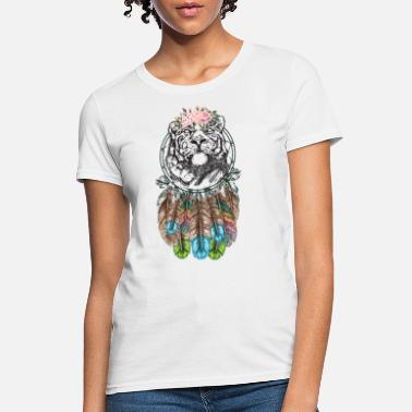 Enlightened Calm Tiger - Women's T-Shirt