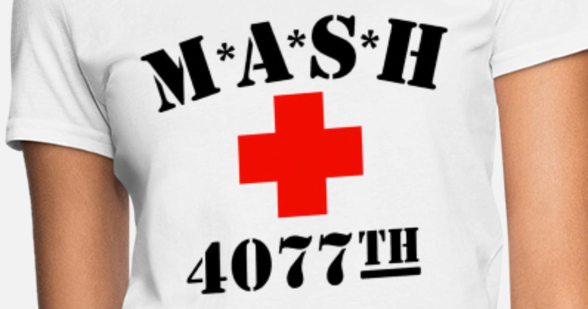 da11dded MASH USA ARMY Retro Mash TV Series Unisex Mens Gif Women's T-Shirt |  Spreadshirt
