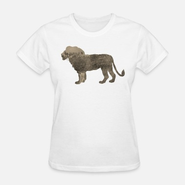 Jungle Sportswear Silhouette Jungle Series Lion - Women's T-Shirt