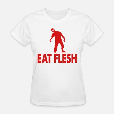 Flesh eat flesh - Women's T-Shirt