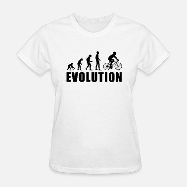 Evolutionary History EVOLUTION CYCLING - Women's T-Shirt