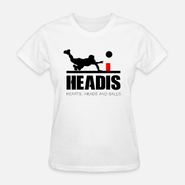 Heady Headis Hearts, Heads and Balls - Women's T-Shirt