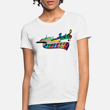 Musical Instrument rainbow musical instrument - Women's T-Shirt