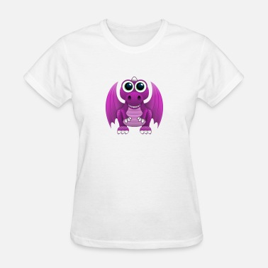 Pink Dragon AntiChat Upgraded Pink Dragon Avatar - Women's T-Shirt