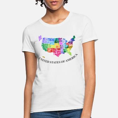 United States Of America United States - Women's T-Shirt
