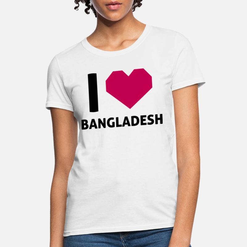 Shop I Love Bangladesh T-Shirts online | Spreadshirt