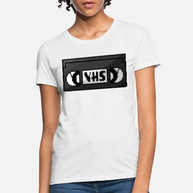 Vhs Tapes Pixel VHS Tape - Women's T-Shirt