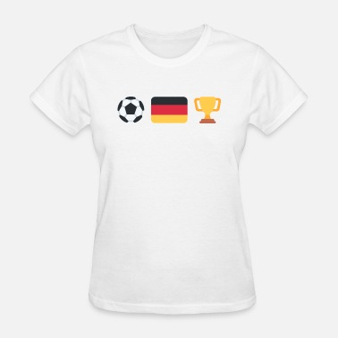German Soccer | Trophy | Germany - Women's T-Shirt