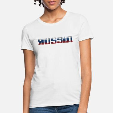 National Colours Russia - Flag - National Colours - Moscow - soviet - Women's T-Shirt