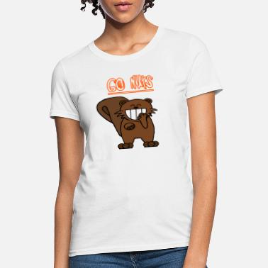 Go Nuts Go nuts chipmunk - Women's T-Shirt