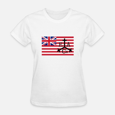 East India Trading Company East Asbury Trading Co Flag - Women's T-Shirt