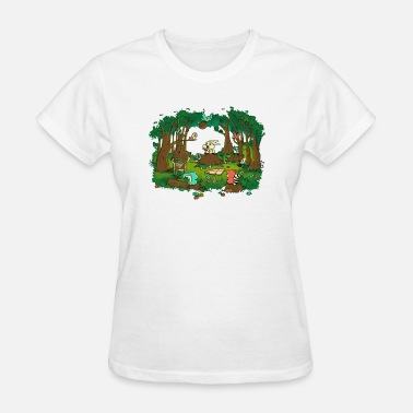 Bunny Teeth A little bunny WITH BIG POINTY TEETH - Women's T-Shirt