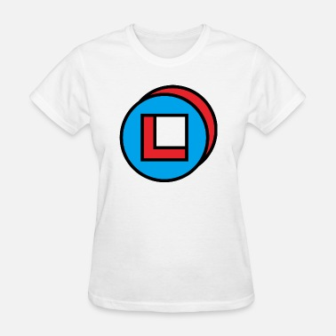 Circles Square circle square - Women's T-Shirt