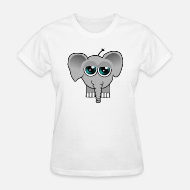 The Very Tired Girl Elephant Baby tired - Women's T-Shirt