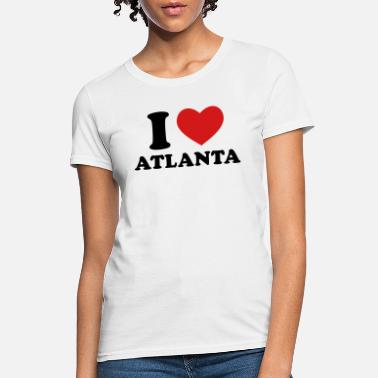 I Love Atlanta I Love Atlanta - Women's T-Shirt