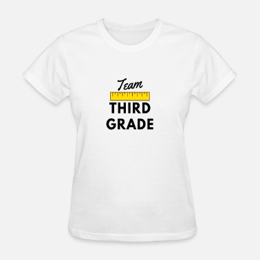 Team Third Grade Teacher Team Third Grade Gifts for 3rd Grade Teachers - Women's T-Shirt