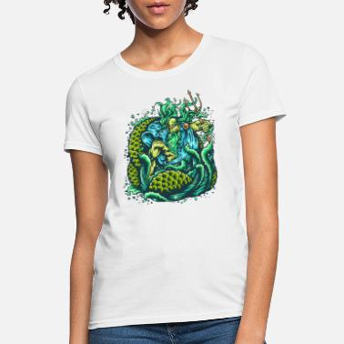 God Of The Sea - Women's T-Shirt