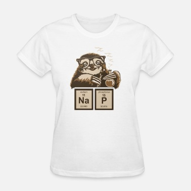 Sloth Napping SLOTH NAP CHEMICAL ELEMENT - Women's T-Shirt