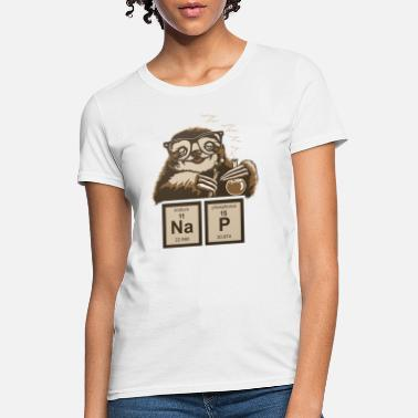 Chemical Elements SLOTH NAP CHEMICAL ELEMENT - Women's T-Shirt