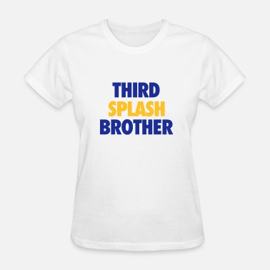 Third Street Third splash brother - Basketball statement design - Women's T-Shirt