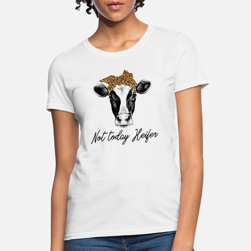 7b1177e2df38 Shop Not Today Heifer T-Shirts online | Spreadshirt