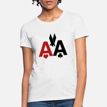 Poker American Airlines AA Texas Holdem Tee Mens W - Women's T-Shirt