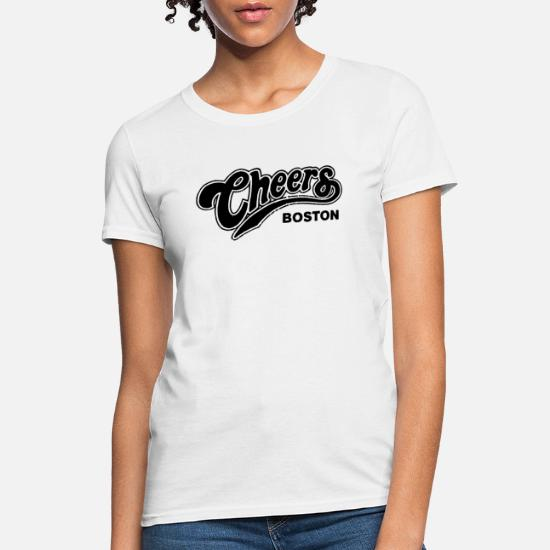 Vintage 80 s CHEERS TV show Ted Danson Shelly Long Women's T