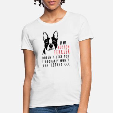 Boston Terrier Birthday Gifts White Clothing