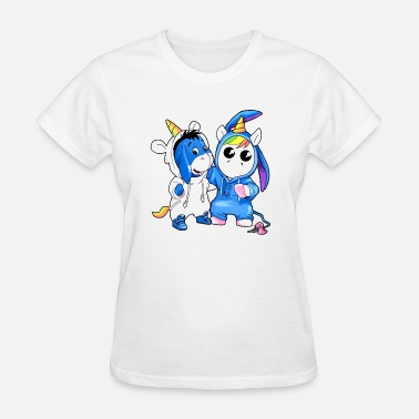 funny for chilrend gift for you animals unicorn fr - Women's T-Shirt