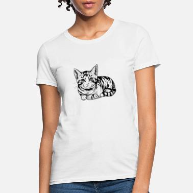 Catholicism cat, catalan, Catholic, catapult, Caterpillar Gift - Women's T-Shirt