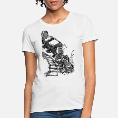 Wreck Train Wreck - Women's T-Shirt