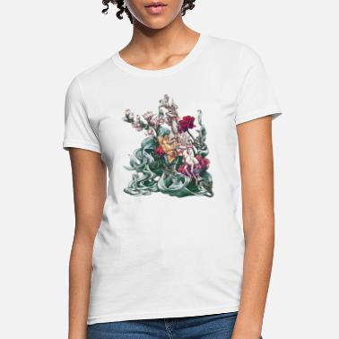 Garden Flowers Carnation - Women's T-Shirt