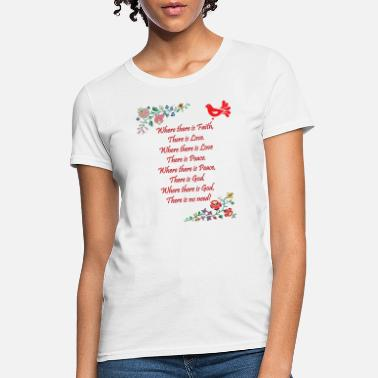 Blessed Home Hungarian Home Blessing in English - Women's T-Shirt