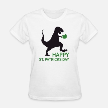 Grens Saint Patrick's Day Dino St. Patricks Day T-Shirt - Women's T-Shirt