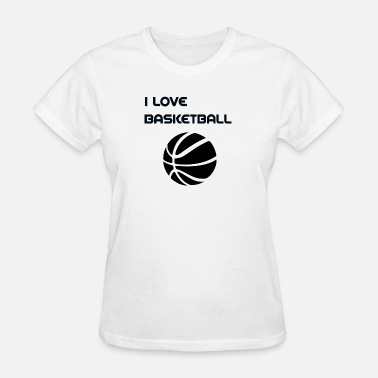 Basketball Love Basketball i love basketball - Women's T-Shirt