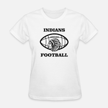 Indian Clubs Indians Football - Women's T-Shirt