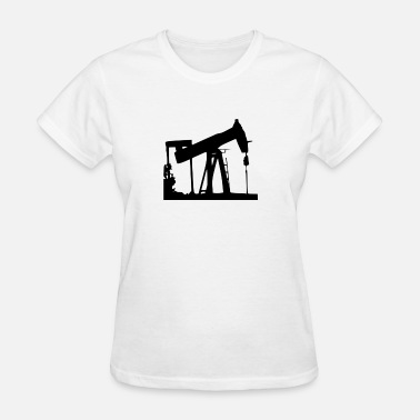 Will Work For Gas oil & gas petroleum shirt - Women's T-Shirt