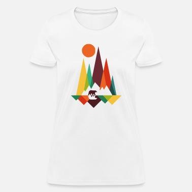 f417640866f54 Bear Print bear in whimsical wild prints - Women  39 s T-Shirt
