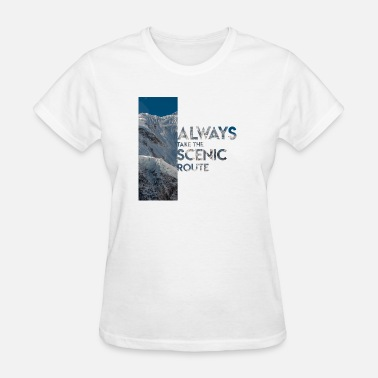 Scenic Scenic Route - Women's T-Shirt