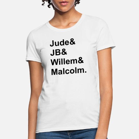 Women Full Size. Hoodie for Men A LITTLE LIFE book JB /& Jude /& Willem /& Malcolm Classic TShirtT Shirt Tee shirt in white