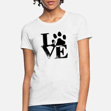 love dog - Women's T-Shirt