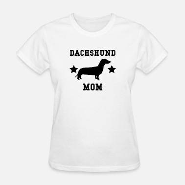 Dachshund Mom Dachshund Mom - Women's T-Shirt