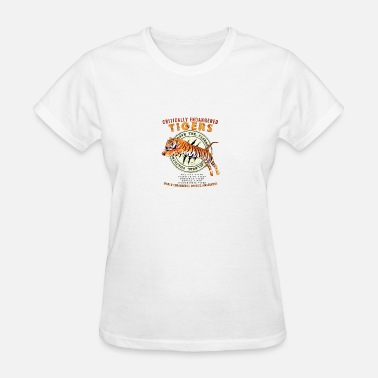Stop Poaching SAVE THE TIGERS - Women's T-Shirt
