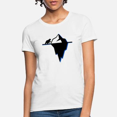 Polar Bear Hockey Polar Bear On Ice - Women's T-Shirt