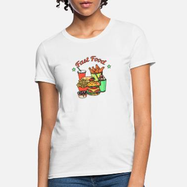 Food Chain Fast Food Chain - Women's T-Shirt