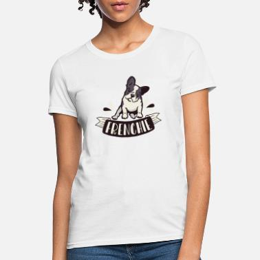 Frenchie color dog - Women's T-Shirt