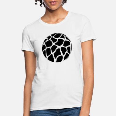 a4861edc Cute Giraffe Giraffe Print (Black) - Women's T-Shirt