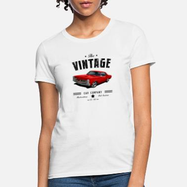 Vintage Car Vintage 1967 GTO - Women's T-Shirt