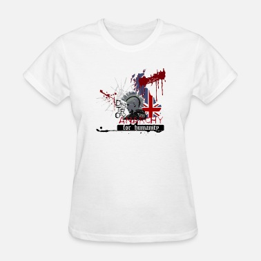 Destroy Anarchy ANARCHY FOR HUMANITY - Women's T-Shirt