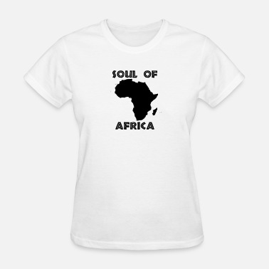 Abroad Soul of Africa - Women's T-Shirt